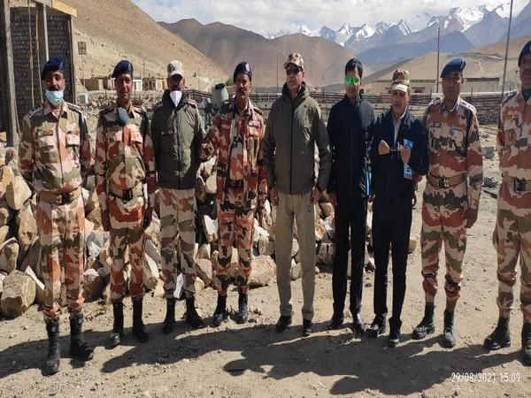 MoS Home visits ITBP Border Outpost in Ladakh