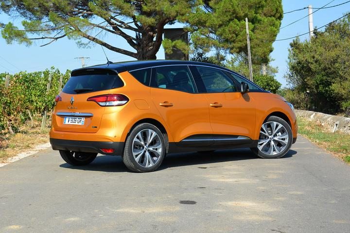 renault scenic hybrid news specs driving impressions assist