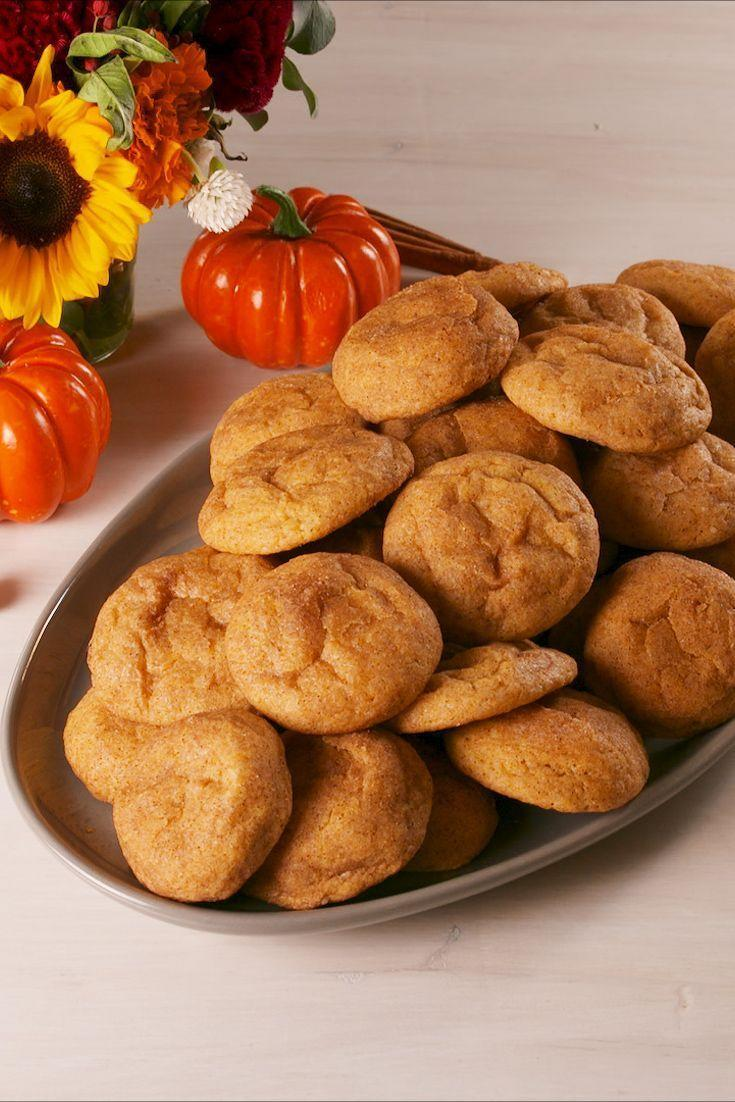 "<p>Snickerdoodles, but make them even <em>more </em>fall friendly.</p><p>Get the recipe from <a href=""https://www.delish.com/cooking/recipe-ideas/a23941394/pumpkin-snickerdoodles-recipe/"" rel=""nofollow noopener"" target=""_blank"" data-ylk=""slk:Delish"" class=""link rapid-noclick-resp"">Delish</a>.</p>"