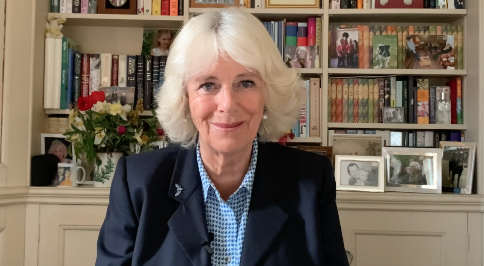 Camilla gave a message to nurses amid the pandemic. (Royal Family)