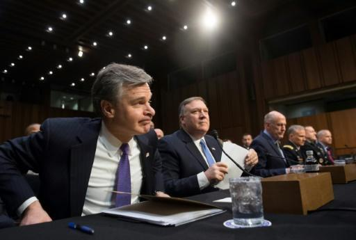 <p>US intel chiefs say Russia meddling threatens 2018 vote</p>