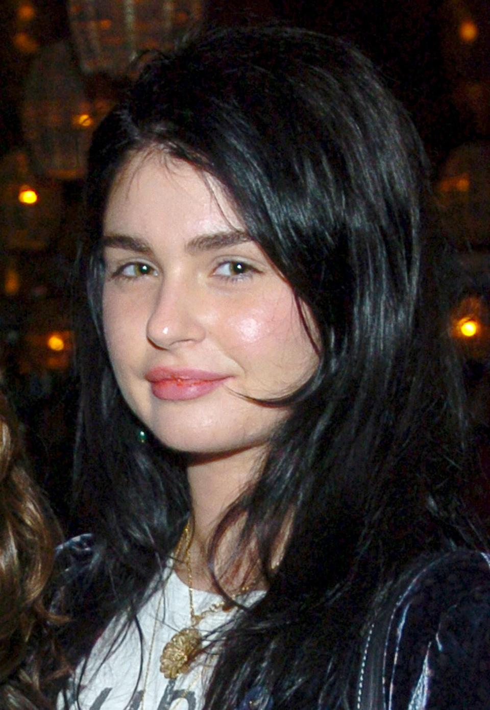 """Aimee Osbourne during """"The Brown Bunny"""" New York Premiere - After Party at Maritime Hotel in New York City, New York, United States. (Photo by Dimitrios Kambouris/WireImage)"""