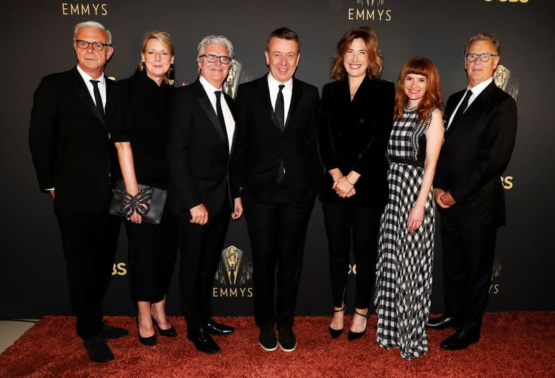 'The Crown' cast gathers in London for the Emmy Awards