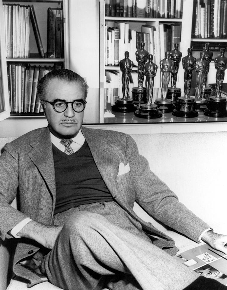 <p>Not counting short film winners, your all-time Oscar champ would be this art director/production designer whose wins included <i>Pride and Prejudice</i> (1940), <i>An American in Paris</i> (1951), and <i>Somebody Up There Likes Me</i> (1956). Gibbons was nominated, but did not win, for a little film called <i>The Wizard of Oz </i>(1939). His tally was no doubt helped by the fact that for many years there were two categories that recognized art direction: one for color and one for black-and-white. (<i>Credit: Everett Collection)</i></p>