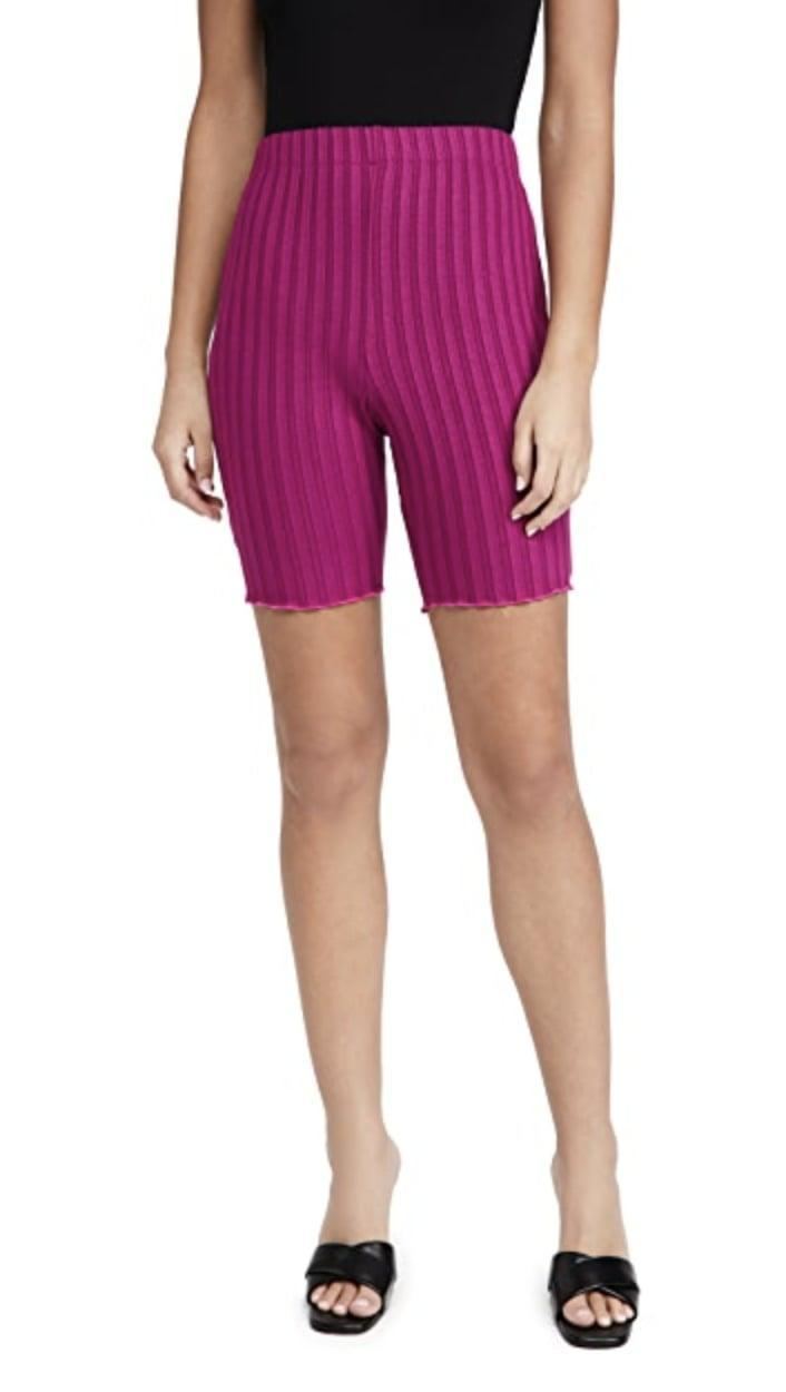 <p>You can easily dress these <span>Simon Miller Burr Shorts</span> ($135) up or down.</p>