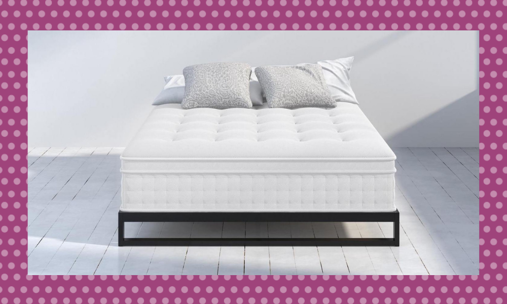 Sweet dreams: This popular mattress has earned over 5,300 five-star reviews. (Photo: Amazon)