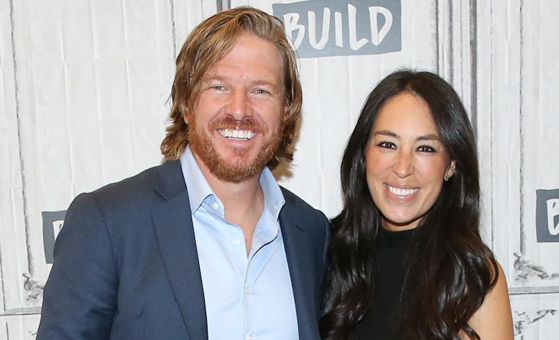 Chip and Joanna Gaines attend the Build Series on Oct. 18 in NYC.