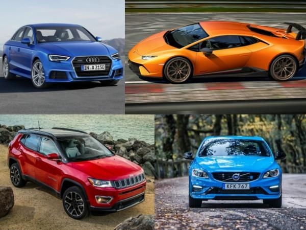 Cars launching in April 2017