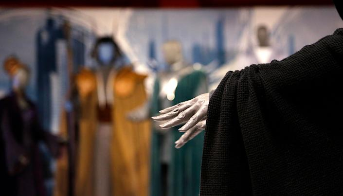 Sith robes. (AP Photo/Elaine Thompson)