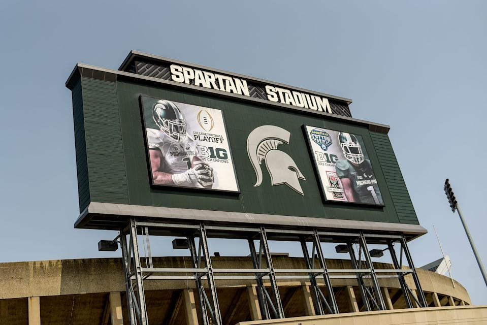 Spartan Stadium photographed on Wednesday, Sept. 16, 2020, on the Michigan State University campus in East Lansing.