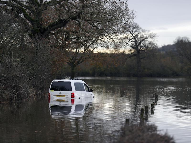 Flood warnings have been issued across the UK due to rising river levels: PA Wire/PA Images