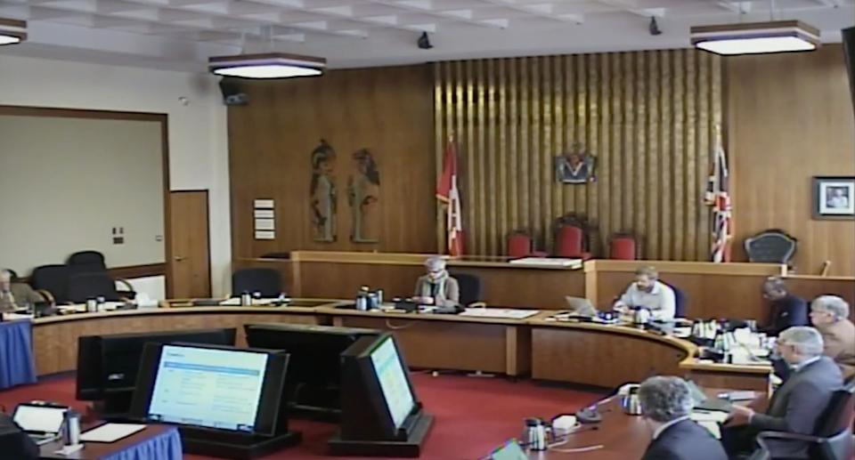 Screen grab of Victoria City Council proceedings on April 2, 2020. (Photo: City of Victoria)