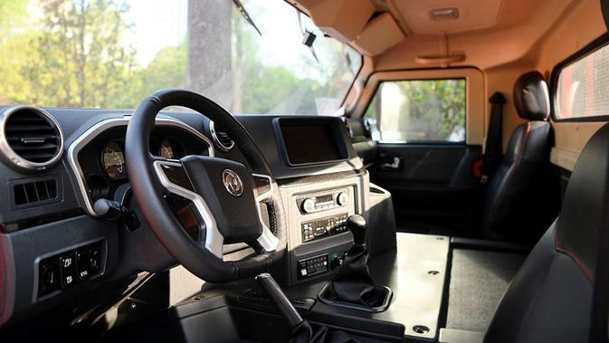Dongfeng Warrior M50 (Carscoops)