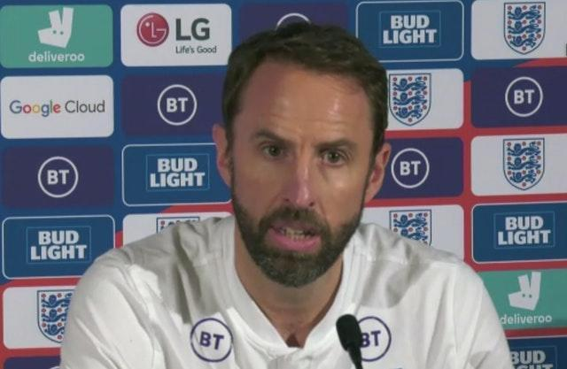 Gareth Southgate condemned Clarke's comments