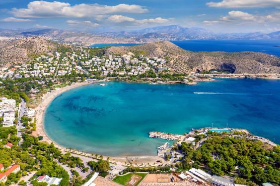 Vouliagmeni in the Athens Riviera (Getty/iStock)