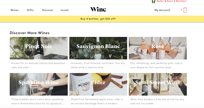 Become a wine connoisseur with this savvy service.