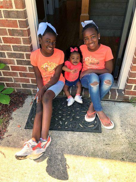 PHOTO: Armani and Amaya are shown with little sister Taylor in this undated photo. (Desiree Hamilton)