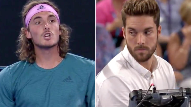 Stefanos Tsitsipas rides crowd support to Australian Open's fourth round