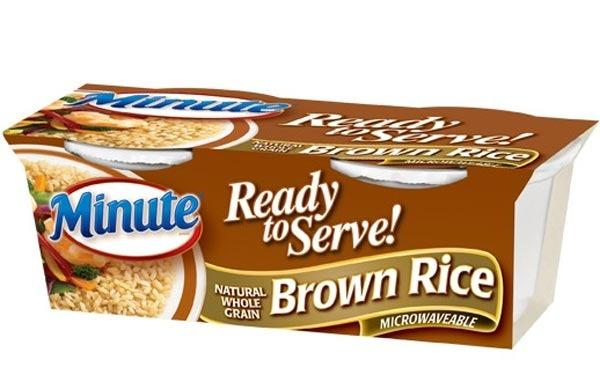 minute ready-to-serve whole grain brown rice