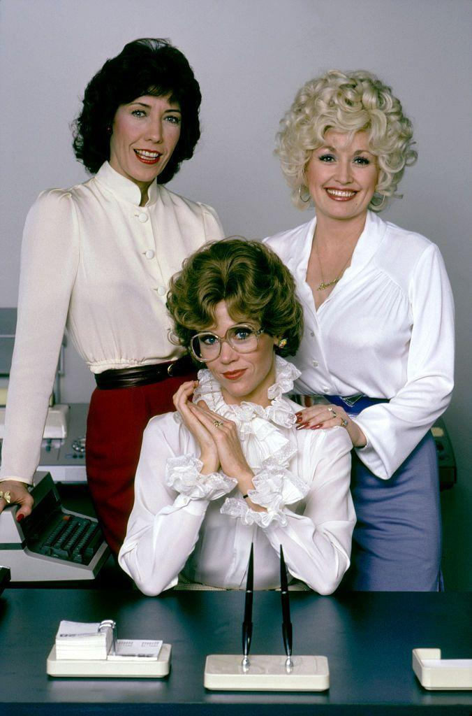 <p>After the release of <em>9 to 5</em>, fans coveted the sheer blouses, high waisted skirts, and sleek pumps worn by Jane Fonda, Lily Tomlin, and Dolly Parton in the workplace comedy.</p>