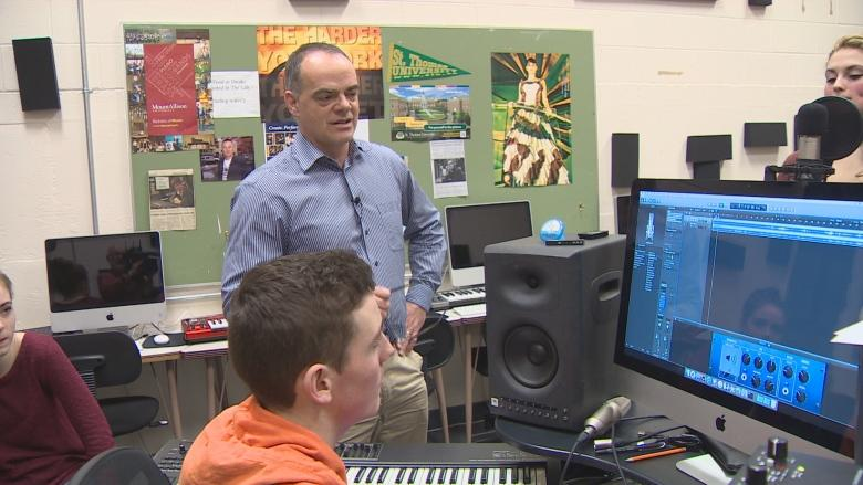 Don Bossé gives up his classroom baton, but not his love for music