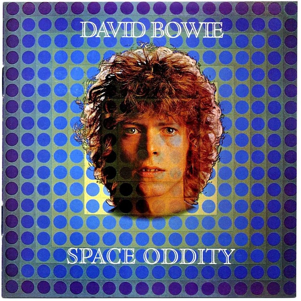 """The 1969 artwork for David Bowie's """"Space Oddity"""" single. (Photo: Mercury Records)"""