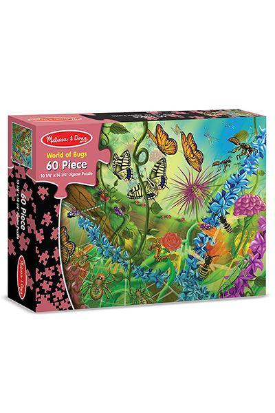 "<p>$7</p><p><a rel=""nofollow"" href=""https://www.amazon.com/Melissa-Doug-World-Jigsaw-Puzzle/dp/B0007ODGIC/ref=pd_ybh_a_4"">SHOP NOW</a></p><p>Gather the family to work on this artistic puzzle together. If ""World of Bugs"" isn't the gift recipient's thing, Melissa and Doug also offers puzzles that are dinosaur-, space-, and ocean-themed. </p>"
