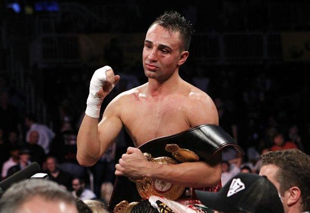 Former world champion Paulie Malignaggi announced his retirement on Monday, 19 years to the day that he began as an amateur. (The Associated Press)