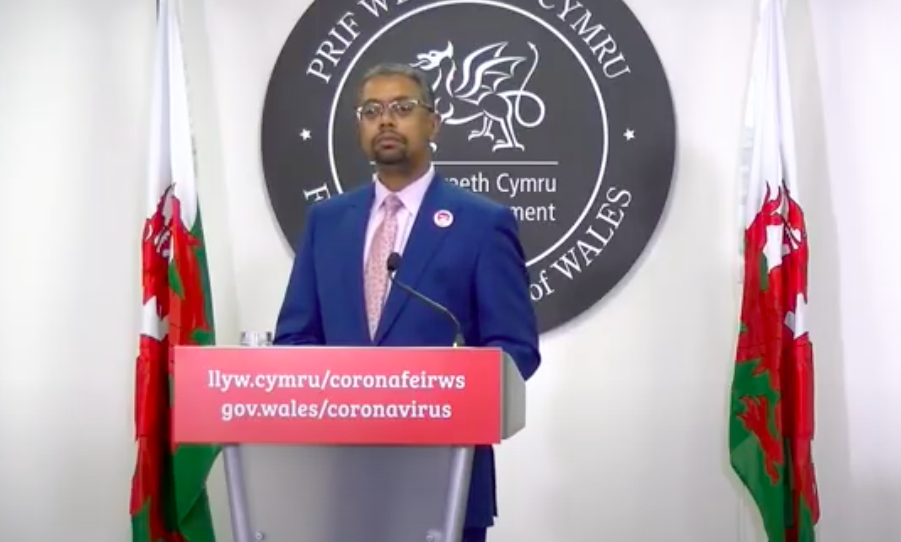 Welsh health minister Vaughan Gething said extra measures will be required in addition to the three-tier lockdown. (Welsh Government)