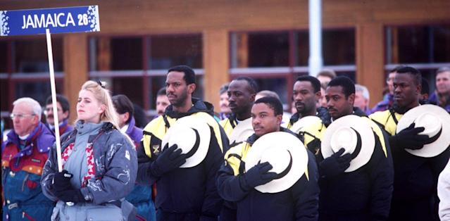 <p>Jamaica returned to the 1992 Olympics in Albertville, France, the 1994 Olympics Lillehammer, Norway, and the 2002 Olympics in Salt Lake City, Utah. After failing to qualify for several years, Jamaica made its return at the 2014 Olympics in Sochi, Russia. The first women's team from Jamaica will make its debut at the 2018 Olympics in PyeongChang, South Korea.<br>(Getty Images) </p>