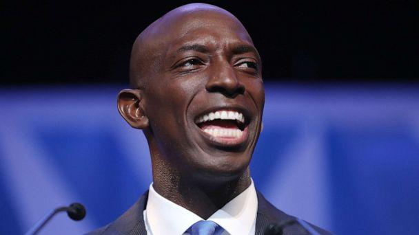 PHOTO: Wayne Messam speaks at a rally at Florida Memorial University in Miami Gardens, Florida, March 30, 2019. (Joe Raedle/Getty Images, FILE)