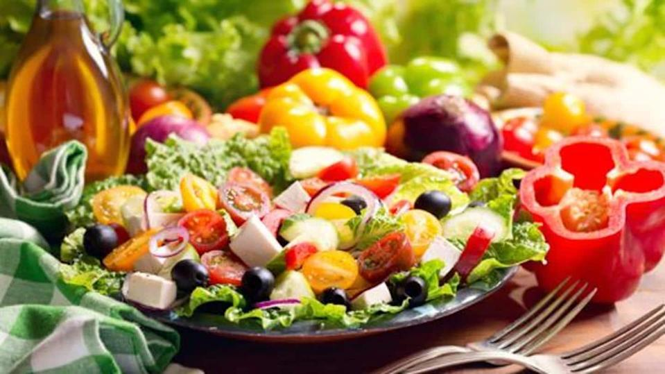 The five different categories of vegetarians based on their diet