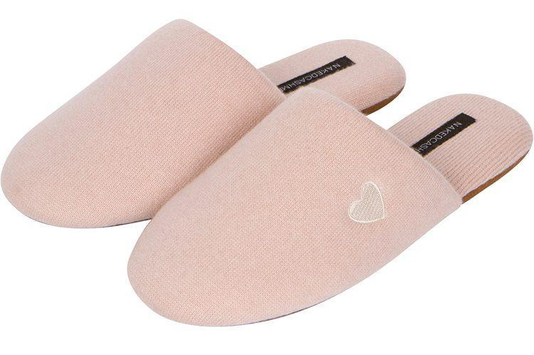 Naked Cashmere slippers. - Credit: Courtesy