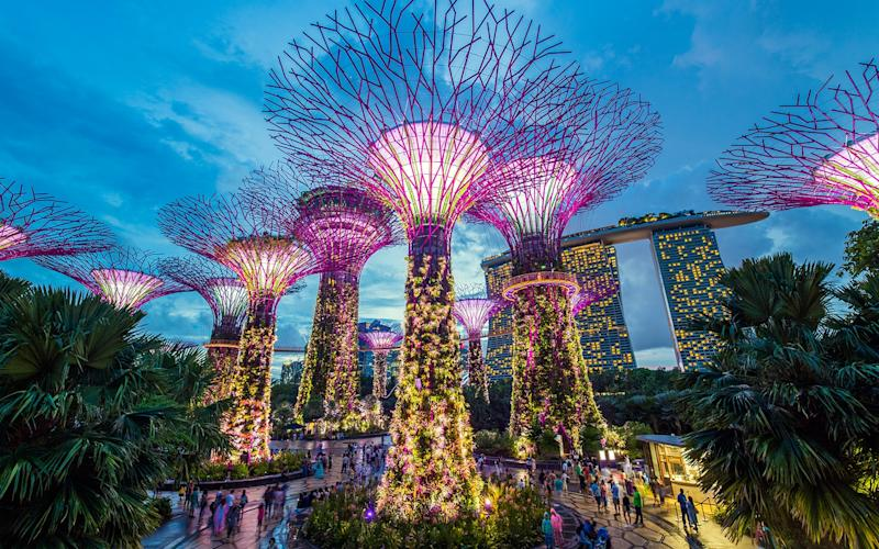"Singapore realised its ""city in a garden"" vision when it opened the gates to Gardens by the Bay - Gavin Hellier"