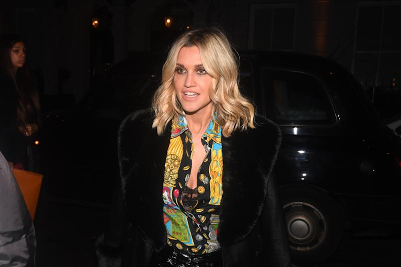 Ashley Roberts arriving to attend Caroline Flack's 40th birthday celebrations at Bagatelle London. (Photo by Victoria Jones/PA Images via Getty Images)