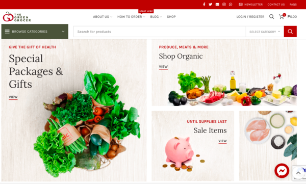 Online Grocery Delivery in the Philippines - The Green Grocer