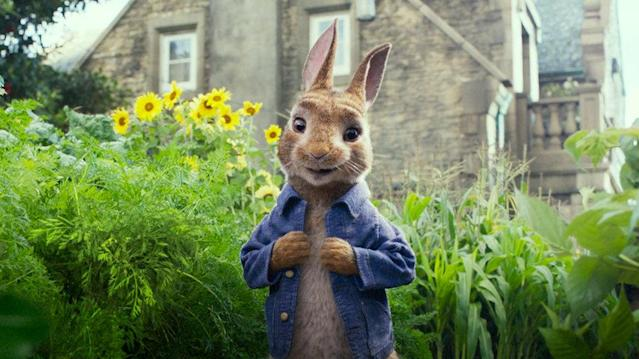 <em>Peter Rabbit</em>'s filmmakers are in hot water for mocking life-threatening food allergies in the movie. (Photo: Columbia Pictures)