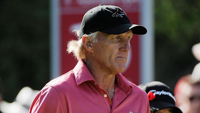 """<ul> <li><strong>Age:</strong> 66</li> <li><strong>Major wins:</strong> 2 (1986 British Open, 1993 British Open)</li> <li><strong>Total Pro Wins:</strong> 88</li> </ul> <p>The Australian golfer known as The Shark (or The Great White Shark) has an impressive playing resume, with 331 weeks as the No. 1-ranked golfer in the world, plus a lucrative course-design and apparel business. Norman might be better known for his runner-up finishes, including two heartbreaking losses at the Masters.</p> <p><a href=""""https://www.gobankingrates.com/net-worth/what-is-greg-norman-net-worth/?utm_campaign=1106364&utm_source=yahoo.com&utm_content=23"""" rel=""""nofollow noopener"""" target=""""_blank"""" data-ylk=""""slk:See what his golf career has helped his net worth grow to."""" class=""""link rapid-noclick-resp"""">See what his golf career has helped his net worth grow to.</a></p> <p><em><strong>Find Out: </strong></em><em><strong><a href=""""https://www.gobankingrates.com/net-worth/sports/nfl-hall-famer-highest-net-worth/?utm_campaign=1106364&utm_source=yahoo.com&utm_content=24"""" rel=""""nofollow noopener"""" target=""""_blank"""" data-ylk=""""slk:Which NFL Hall of Famer Has the Highest Net Worth?"""" class=""""link rapid-noclick-resp"""">Which NFL Hall of Famer Has the Highest Net Worth?</a></strong></em></p> <p><small>Image Credits: Tony Bowler / Shutterstock.com</small></p>"""