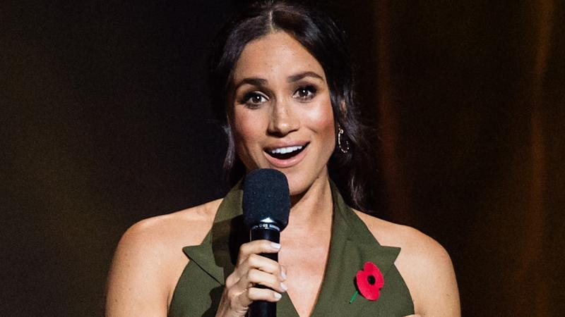 The Duchess of Sussex shared her personal connection to the event her husband founded four years ago.