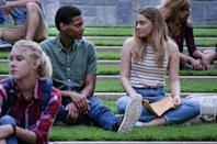 """<p>Based on the bestselling novel by Anna Todd, <a href=""""https://www.popsugar.com/entertainment/After-Movie-Trailer-45519775"""" class=""""link rapid-noclick-resp"""" rel=""""nofollow noopener"""" target=""""_blank"""" data-ylk=""""slk:this romance"""">this romance</a> stars Josephine Langford as a college student who falls for a bad boy (Hero Fiennes Tiffin) and begins a tumultuous relationship. Their parents are played played by Peter Gallagher, Jennifer Beals, and <a class=""""link rapid-noclick-resp"""" href=""""https://www.popsugar.com/Selma-Blair"""" rel=""""nofollow noopener"""" target=""""_blank"""" data-ylk=""""slk:Selma Blair"""">Selma Blair</a>.</p>"""