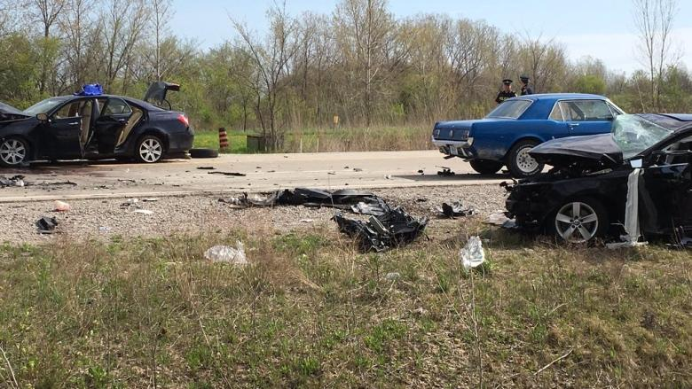 Two suspects face raft of firearms charges following Highway 3 collision