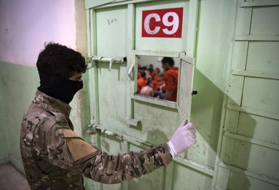 AFP was allowed into a jail that holds 5,000 prisoners (Picture: AFP)