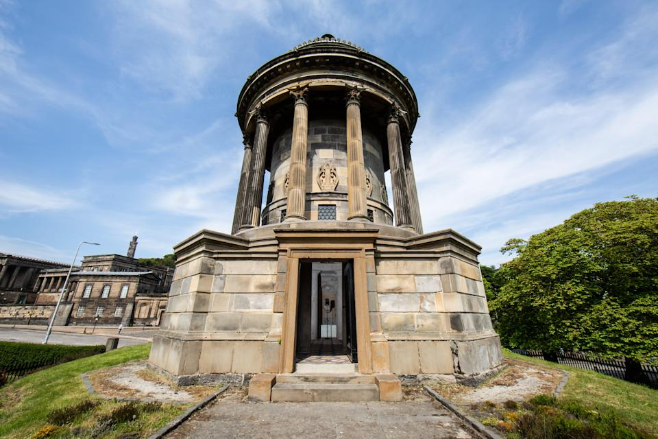 The Sound Of The Union artwork will play Robert Burns's Auld Lang Syne in European languages (University of Edinburgh/PA)