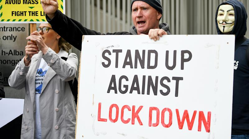 PM facing open revolt from Tory backbenchers over new lockdown restrictions