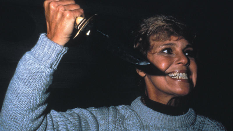 Betsy Palmer as Pamela Voorhees in 'Friday the 13th'. (Credit: Warner Bros)