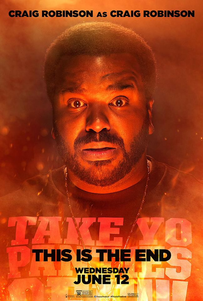 "Craig Robinson stars in Columbia Pictures' ""This Is the End"" - 2013"