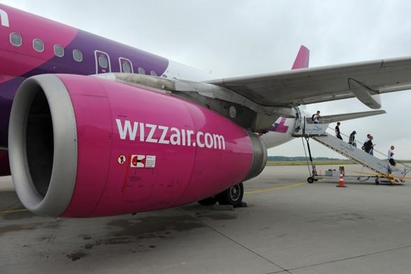 Wizz Air charges passengers for larger hand luggage