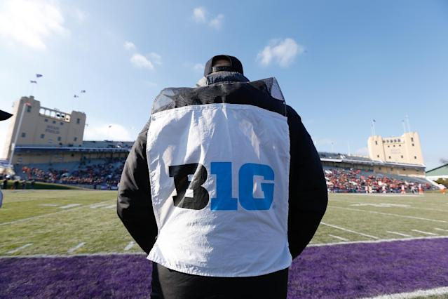 The Big Ten will play Friday night games next season. (Getty)