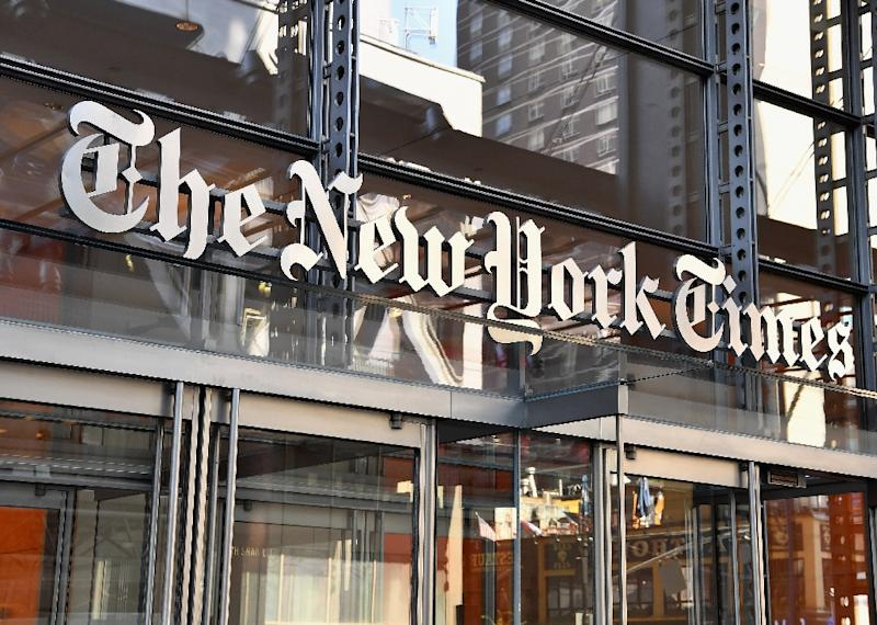 Media organisations are boycotting the conference including The New York Times which is pulling out as a sponsor (AFP Photo/ANGELA WEISS)