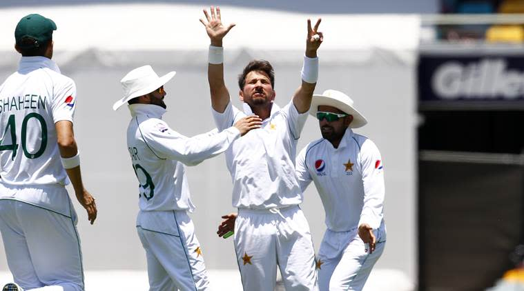 Yasir Shah, Steve Smith, Yasir Shah vs Steve Smith, Yasir Shah seven dismissals, Yasir Shah bunny, Yasir Shah Test records, Pakistan vs Australia 1st Test, PAK vs AUS 1st Test, Pakistan tour of Australia 2019